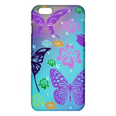 Butterfly Vector Background Iphone 6 Plus/6s Plus Tpu Case