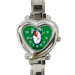 Alarm Clock Weker Time Red Blue Green Heart Italian Charm Watch