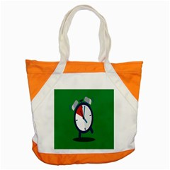 Alarm Clock Weker Time Red Blue Green Accent Tote Bag