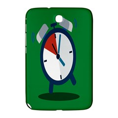 Alarm Clock Weker Time Red Blue Green Samsung Galaxy Note 8.0 N5100 Hardshell Case