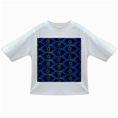 Blue Bee Hive Pattern Infant/toddler T Shirts