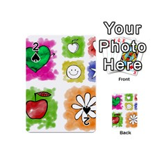 A Set Of Watercolour Icons Playing Cards 54 (mini)