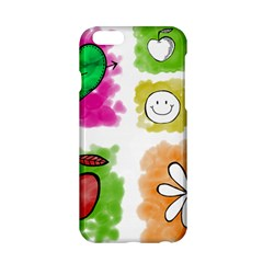A Set Of Watercolour Icons Apple Iphone 6/6s Hardshell Case