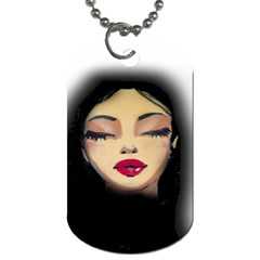 Girl Dog Tag (Two Sides)