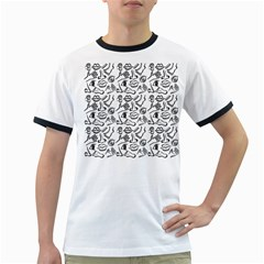 Body parts Ringer T-Shirts