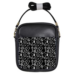Body parts Girls Sling Bags