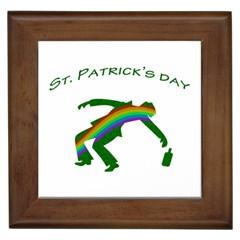 St. Patricks Framed Tiles