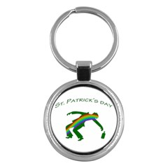 St. Patricks Key Chains (Round)