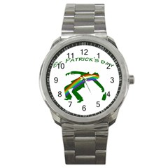 St. Patricks Sport Metal Watch