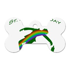 St. Patricks Dog Tag Bone (Two Sides)