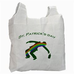 St  Patricks Recycle Bag (two Side)