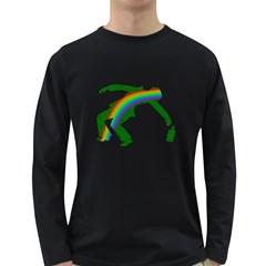 St. Patricks Long Sleeve Dark T-Shirts