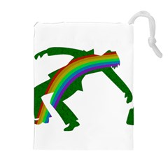 St. Patricks Drawstring Pouches (Extra Large)