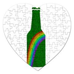 St. Patricks Jigsaw Puzzle (Heart)