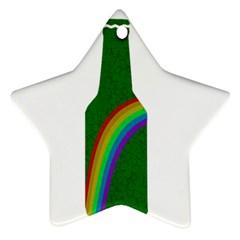 St. Patricks Star Ornament (Two Sides)
