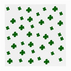 St. Patrick s clover pattern Medium Glasses Cloth