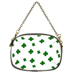St. Patrick s clover pattern Chain Purses (One Side)
