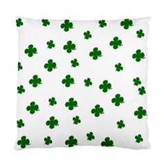 St. Patrick s clover pattern Standard Cushion Case (Two Sides)
