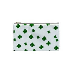 St. Patrick s clover pattern Cosmetic Bag (Small)