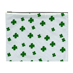 St. Patrick s clover pattern Cosmetic Bag (XL)