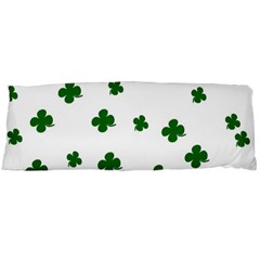 St. Patrick s clover pattern Body Pillow Case Dakimakura (Two Sides)