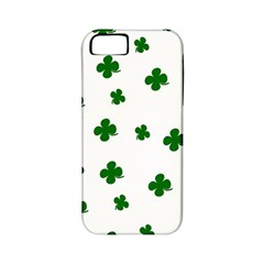 St. Patrick s clover pattern Apple iPhone 5 Classic Hardshell Case (PC+Silicone)