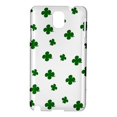 St. Patrick s clover pattern Samsung Galaxy Note 3 N9005 Hardshell Case
