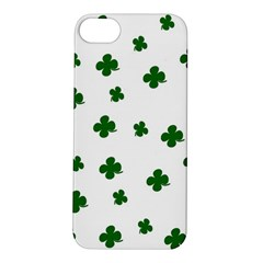 St. Patrick s clover pattern Apple iPhone 5S/ SE Hardshell Case