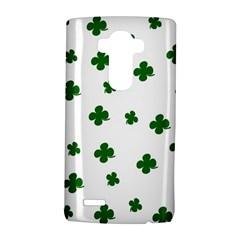 St. Patrick s clover pattern LG G4 Hardshell Case