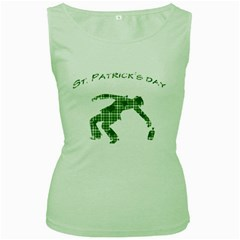 St. Patrick s day Women s Green Tank Top