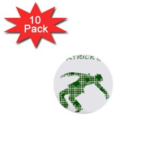 St. Patrick s day 1  Mini Buttons (10 pack)
