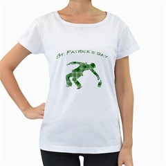 St. Patrick s day Women s Loose-Fit T-Shirt (White)
