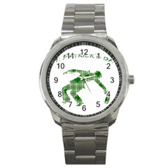 St. Patrick s day Sport Metal Watch