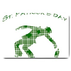 St. Patrick s day Large Doormat