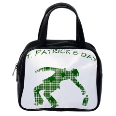 St. Patrick s day Classic Handbags (One Side)