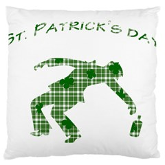 St. Patrick s day Large Cushion Case (One Side)