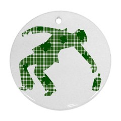 St. Patrick s day Ornament (Round)
