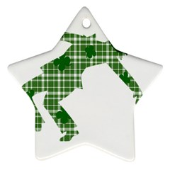 St. Patrick s day Ornament (Star)