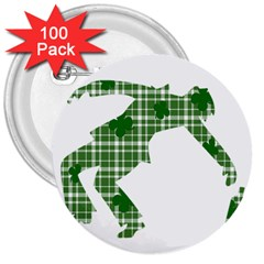 St. Patrick s day 3  Buttons (100 pack)