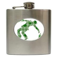 St. Patrick s day Hip Flask (6 oz)