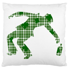 St. Patrick s day Large Cushion Case (Two Sides)