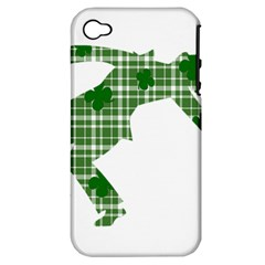 St. Patrick s day Apple iPhone 4/4S Hardshell Case (PC+Silicone)