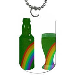 St. Patrick s day Dog Tag (One Side)