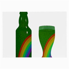 St. Patrick s day Large Glasses Cloth (2-Side)