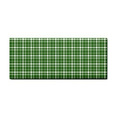 St. Patricks day plaid pattern Cosmetic Storage Cases