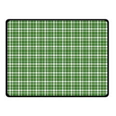 St. Patricks day plaid pattern Double Sided Fleece Blanket (Small)