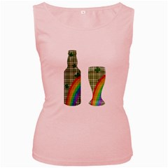 St. Patrick s day Women s Pink Tank Top