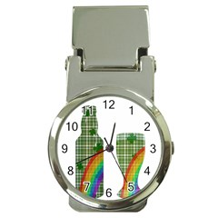 St. Patrick s day Money Clip Watches