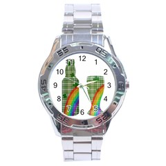 St. Patrick s day Stainless Steel Analogue Watch