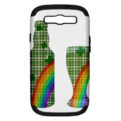 St. Patrick s day Samsung Galaxy S III Hardshell Case (PC+Silicone)